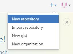 GitHub - new repostory