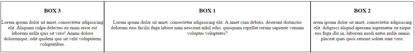 שינוי סדר האלמנטים באמצעות order